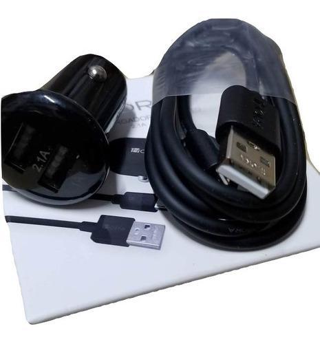 Cargador Para Carro Combo Plug Y Cable Marca 1hora