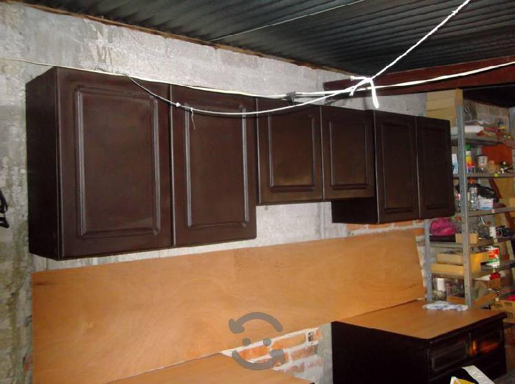 Cocina integral 2,40m. color chocolate