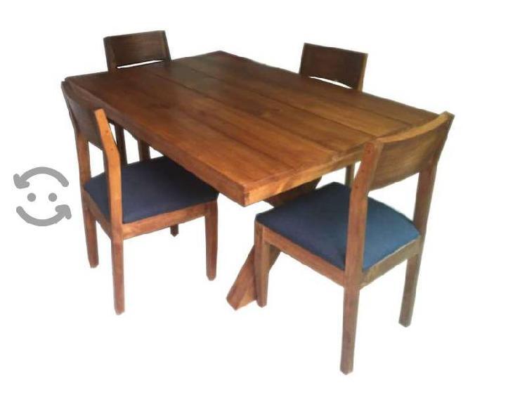 Comedor 4 sillas varios modelos disponibles
