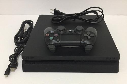 Consola Ps4 Slim De 1 Tb Negra
