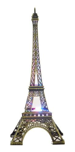 Figura Decorativa Torre Eiffel Con Luz