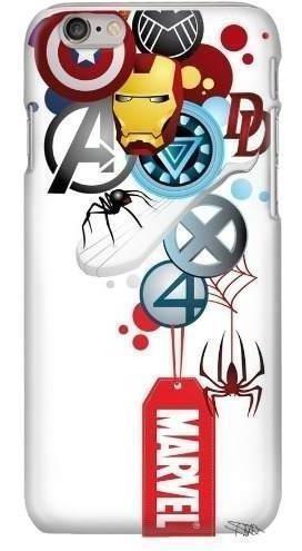 Funda Avengers Marvel X Men Comic Case Celular Spiderman