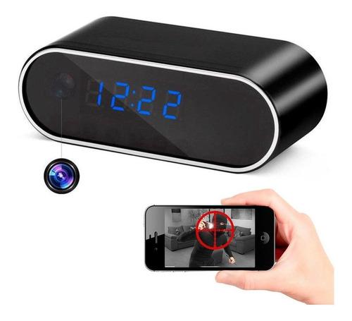 Hopemob Camara Espia Reloj Hd p Wifi Sensor Movimien App