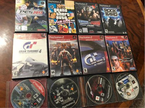 Lote De Juegos Para Ps2