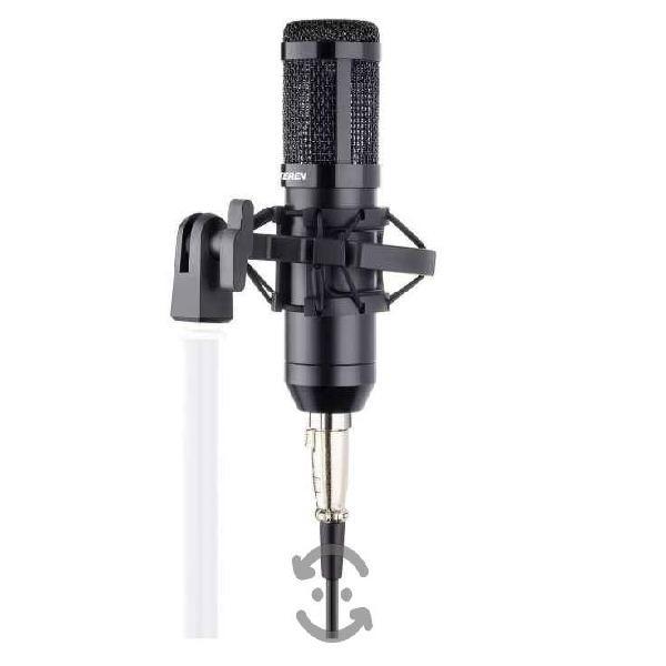 Micrófono Profesional De Condensador Con Filtro Y