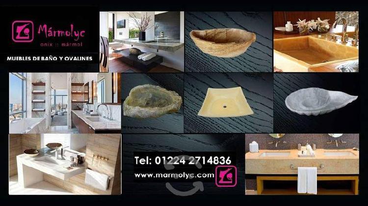 Muebles para Baño Mármol y Onix