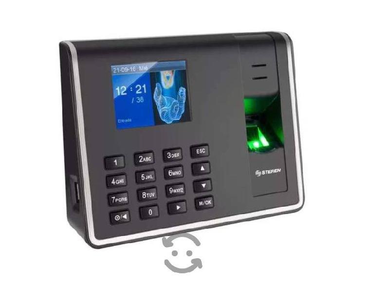 Reloj Checador Digital Biometrico Checador De Huel
