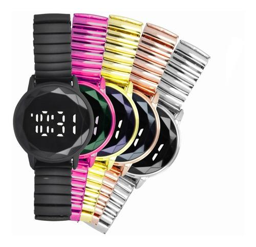 Reloj Touch Digital Moda Minimalista Metal