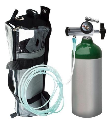 Tanque De Oxigeno Kit Completo M9 255 Litros Marca Oxiplus
