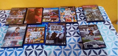 Venta De Juegos Para Playstation 2 Y Playstation 4(separado)