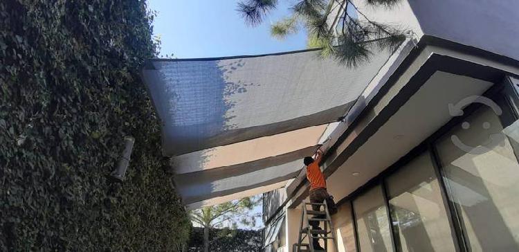 Venta e instalación de malla sombra