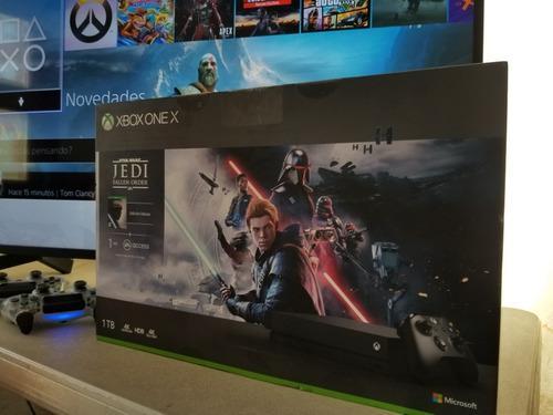 Xbox One X, Jedi Fallen Order Delux Nuevo, Cambio Ps4 Switch