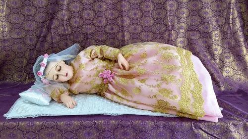 Divina Infantita O Virgen Maria Niña De 85 Cm