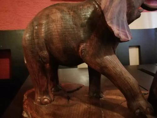 Elefantes Elaborados Con Madera De 100% Palo Fierro