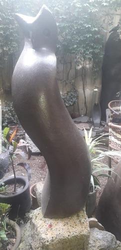 Escultura De Bronce Búho De Francisco Ramírez Domínguez
