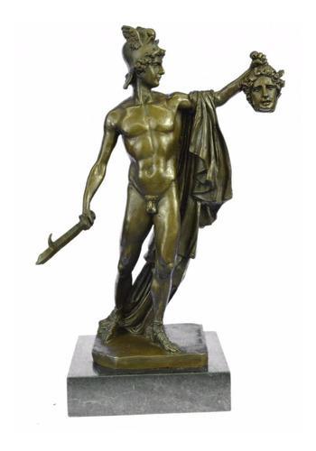 Escultura De Bronce Europea Hecha A Mano Firmada Aldo Vital