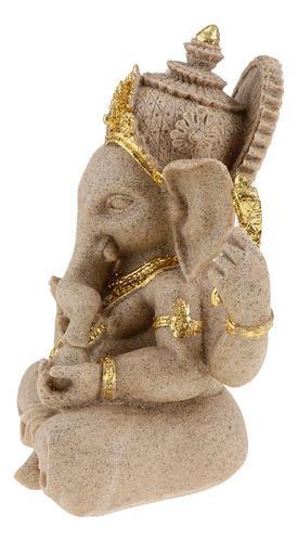 Estatua De Ganesh De Piedra Arenisca Elefante De Buda Hindú