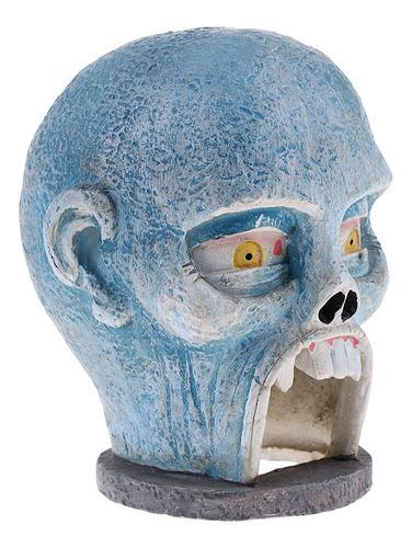 Figura De Acción Cabeza Esculpir Resina Esqueleto Esqueleto