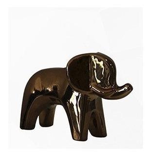 Figura Decorativa Elefante De Bronce