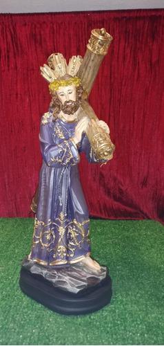 Jesucristo, Jesús Nazareno, Figura De Resina, 34x20x10cm