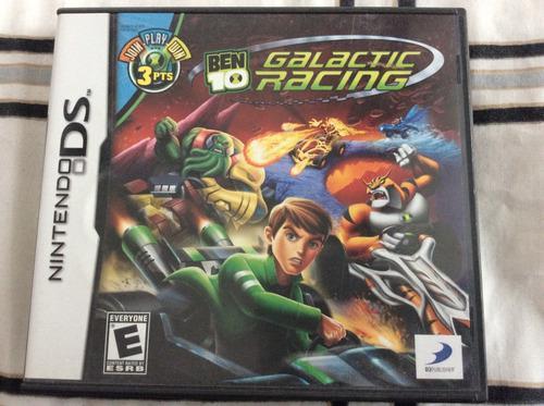 Juegos Nds 3x2 Ben 10 Galactic Racing