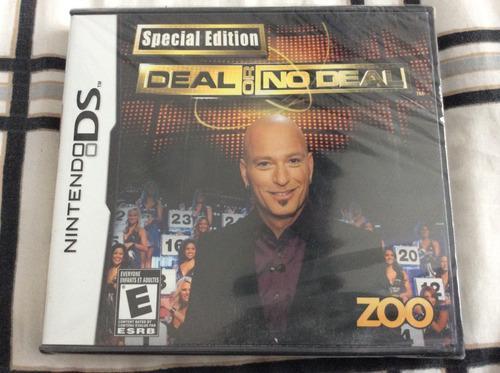 Juegos Nds 3x2 Deal Or No Deal Sellado