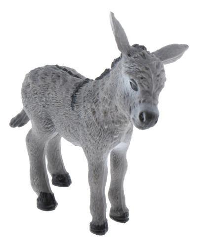 Juguete De Forma De Animal Salvajes, Escultura De Plástico