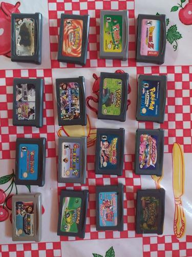 Lote De 16 Juegos Para Game Boy Advance Y Nintendo Ds