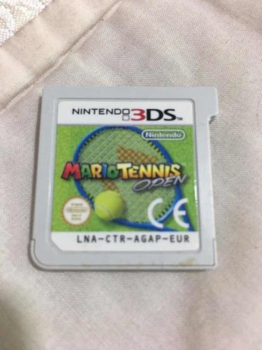 Nintendo 3ds Mario Tennis Open Video Juego
