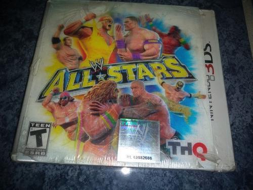 Nintendo 3ds Video Juego Wwe All Stars Original Nuevo Sellad