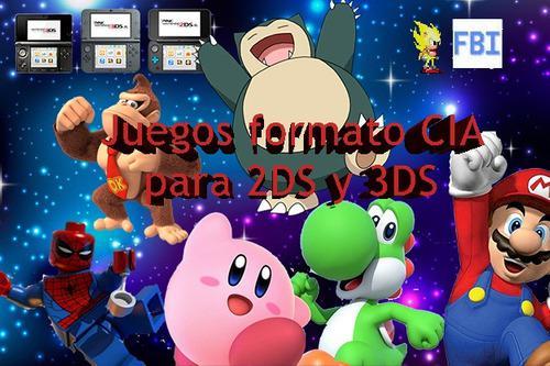 Pack De 3 Juegos Cia Para 3ds