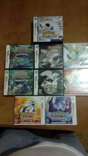 Pack Juegos Originales Pokémon Para Nintendo Ds Y 3ds