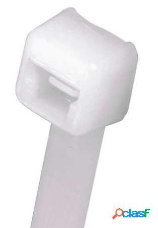Panduit Cintillo de Plástico de 11.4'', Blanco, 1000 Piezas