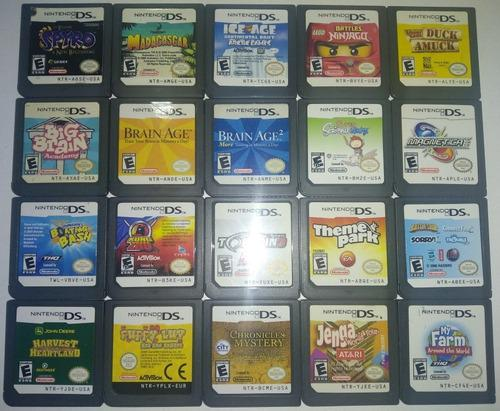 Remate! Juegos De Game Boy Y Nintendo Ds Cien Pesos C/ U