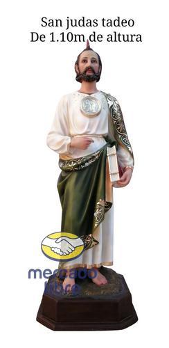 San Judas Tadeo De 1.10m De Altura