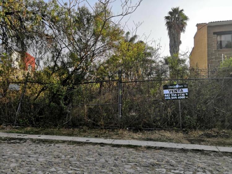 Venta de terreno plano en Villas del Mesón Juriquilla