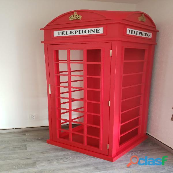 CASETA TELEFONICA TIPO INGLESA