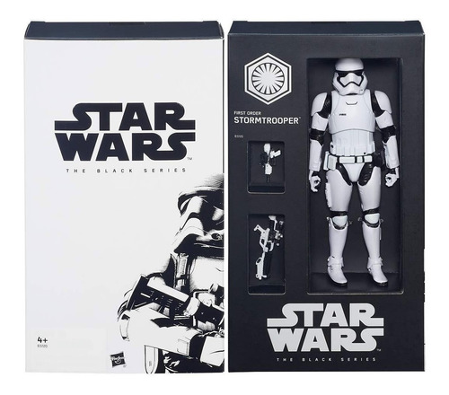 First Order Stormtrooper Star Wars The Black Series Sdcc