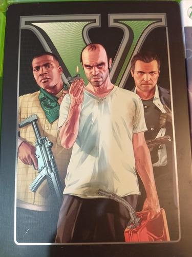 Juego Grand Theft Auto Para Xbox 360 (edición Metálica)