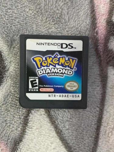 Juego Pokemon Diamond Versión Nintendo Ds