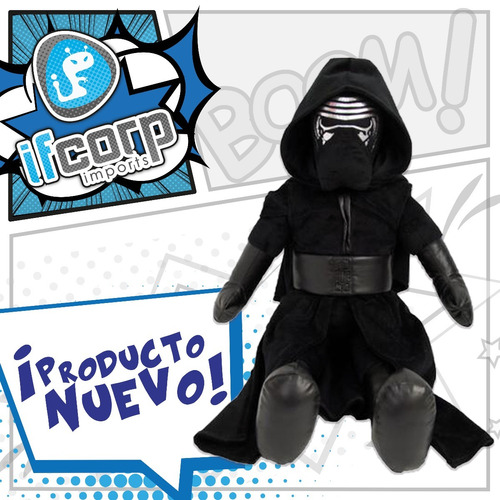 Peluche Kylo Ren Star Wars Episodio 7 Darth Luke