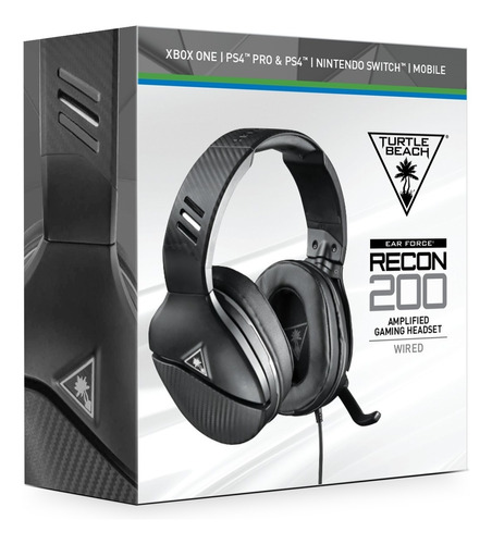 Ps4 Gaming Headset Recon 200 Turtle Beach Original De Linea