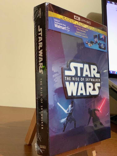 Star Wars The Rise Of Skywalker Blu Ray 4k+br+dc Limited Edi