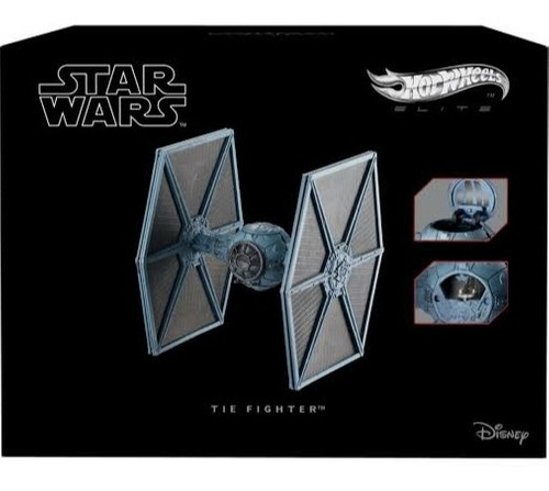 Tie Fighter Star Wars Hot Wheels Elite Nave Original Oferta