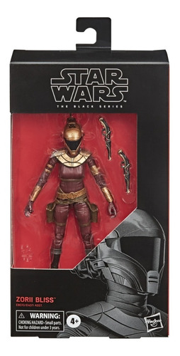 Zorii Bliss The Rise Of Skywalker Star Wars Black Series 103