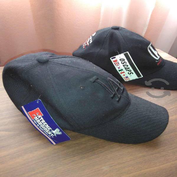 2 Gorras Negras Nuevas