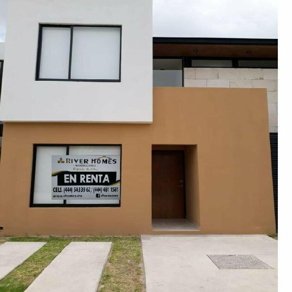 CASA AMUEBLADA EN RENTA EN ZONA INDUSTRIAL SAN LUIS POTOSI