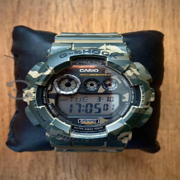 Casio G Shock Camuflage