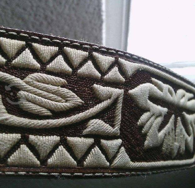 Cinturón Charro original de caballero de hilo Pita