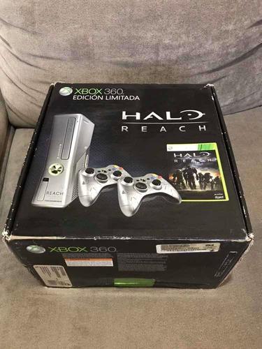 Consola Xbox 360 Edición Limitada Halo Reach!!! En Caja